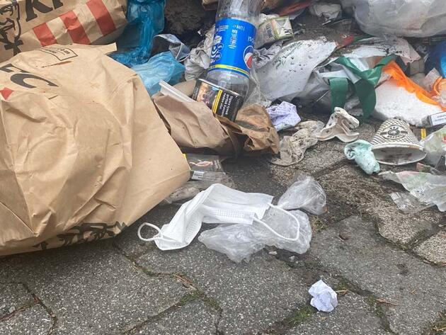 Maltepe'deki çöp yığınlarındaki tıbbi atıklarda koronavirüs uyarısı