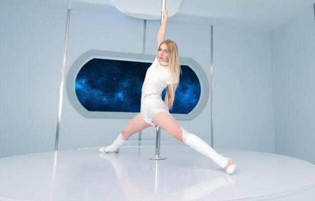 Aleyna Tilki dans şovuyla gündem oldu