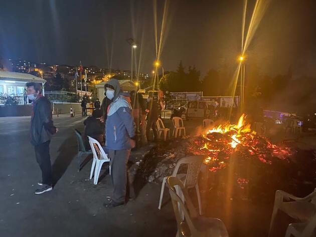 Maltepe'de işçilerin grevi devam ederken çöp yığınları artıyor