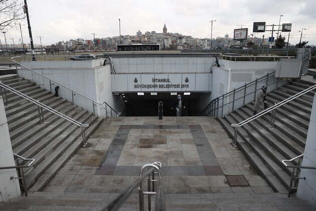 İstanbul'da sokaklarında kısıtlama sessizliği hakim
