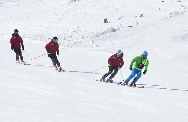 'Ekonomik kayak merkezi' tatilcilerin tercihi oldu