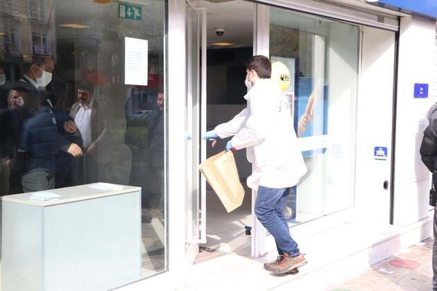 Diyarbakır'da bankada silahlı soygun girişimi