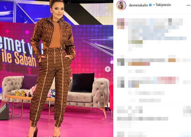 Demet Akalın o iddialara sosyal medyadan cevap verdi