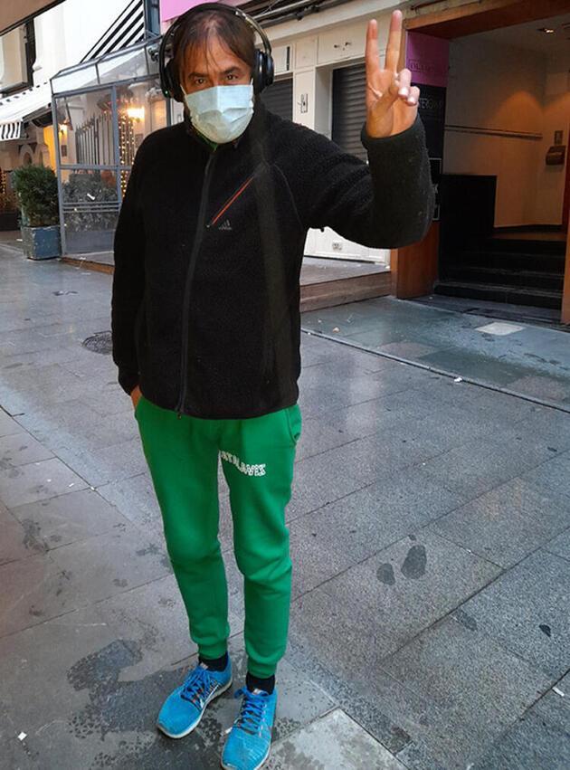 Hakan Meriçliler 'maskesiz dolaşıyor' haberlerine sitem etti