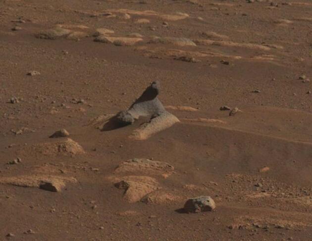 NASA'nın uzay aracı Perseverance, Mars'tan yeni görüntüler gönderdi