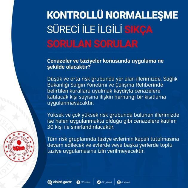 İçişleri Bakanlığı 10 soruda 'kontrollü normalleşme'ye dair tüm merak edilenleri cevapladı