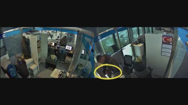 İstanbul Havalimanı'nda görevli memurlara operasyon: Güvenlik kamerası görüntüleri ortaya çıktı