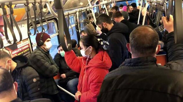 İstanbul'da mesai saatleri değişti; toplu taşıma araçlarında yoğunluk yaşandı