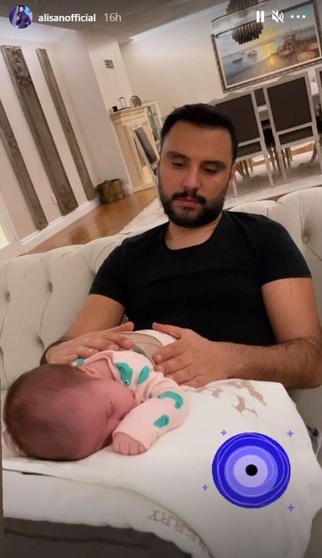 2. kez baba olmak Alişan'ı yordu