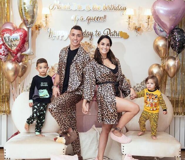 Muslera'nın eşi Patricia Callero'nun doğum günü böyle kutlandı