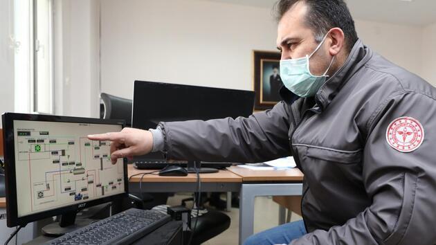 2,8 milyon doz BioNTech aşısı -80 derecede saklanıyor