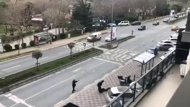 Başakşehir'de korku dolu dakikalar! Ortalık savaş alanına döndü
