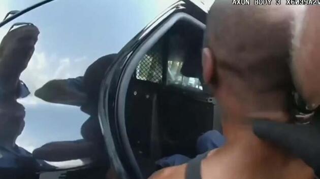 Floyd'u öldüren polis memuru Chauvin'in yaka kamerasına ait görüntüler paylaşıldı