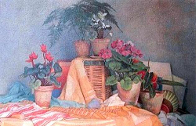 Feryal GülmanveKemal Gülman milyon dolarlık tablolar için kriz yaşıyor.