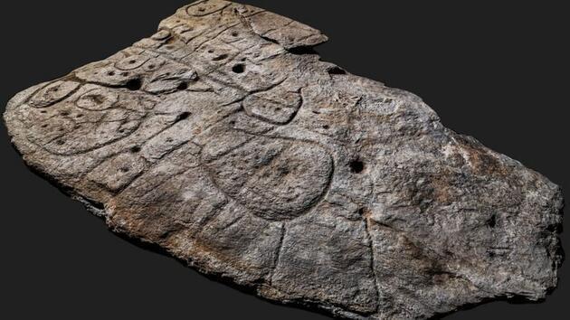 Avrupa'nın bilinen en eski üç boyutlu haritası ortaya çıktı