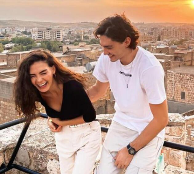 Ebru Şahin'den Cedi Osman'a romantik kutlama