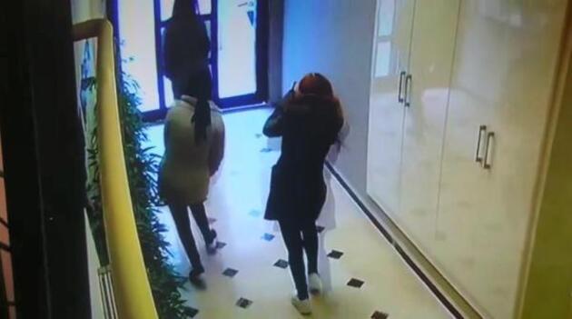 Hırsızlık yapan 5 kadından 1'i balkondan atlayarak belini kırdı