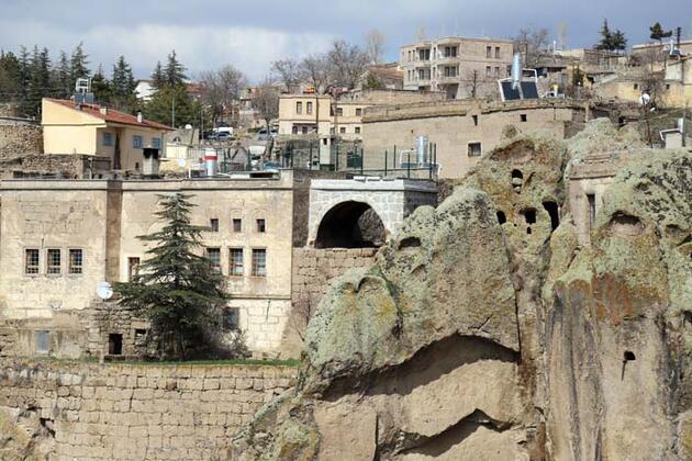 Aksaray'ın 2 asırlık taş evleri yeniden ayağa kaldırılıyor