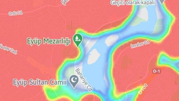İstanbul'da bu sokaklar kıpkırmızı: İşte ilçe ilçe son durum