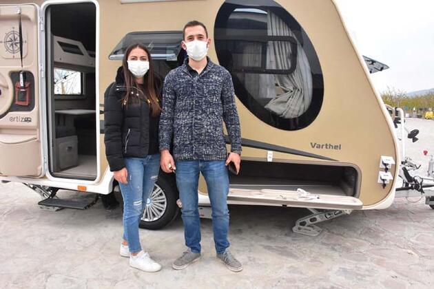 Pandemide talep yüzde 300 arttı! Fiyatlar 70 bin liradan başlıyor! İzole tatilin gözdesi karavanlar...