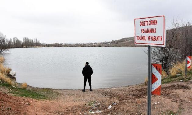 Suyu 25 metre çekilen Serpincik Göleti son yağışlarla doldu