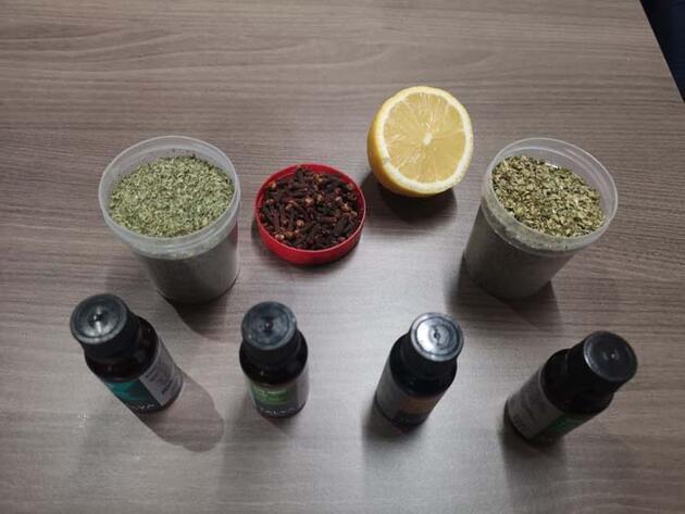 Koronavirüs sonrası koku sorununa doğal formül; limon, kekik, nane yağı ve karanfil