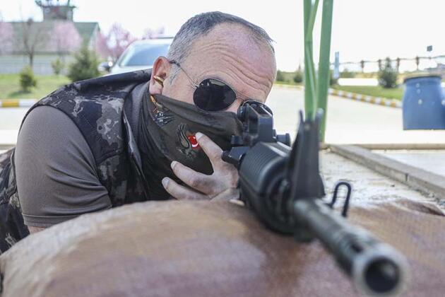 Gazi polis nakilli eliyle 6 yıl sonra ilk atışını yaptı