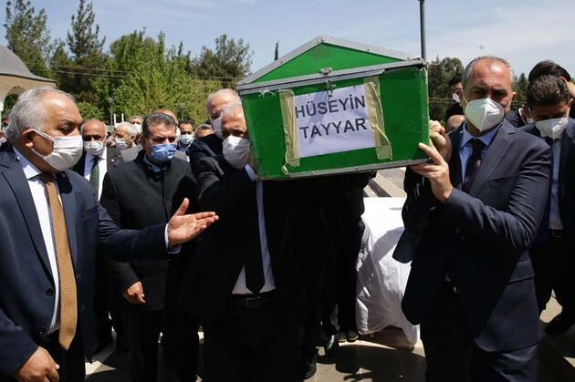 AK Parti MKYK Üyesi Şamil Tayyar'ın babası Hüseyin Tayyar, son yolculuğuna uğurlandı