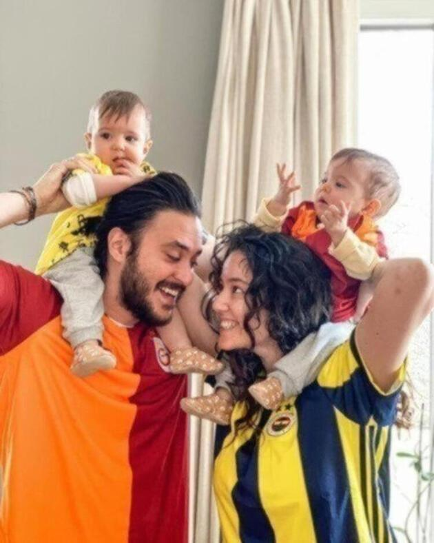 Pelin Akil ile Anıl Altan'ın kızları 2 yaşına bastı