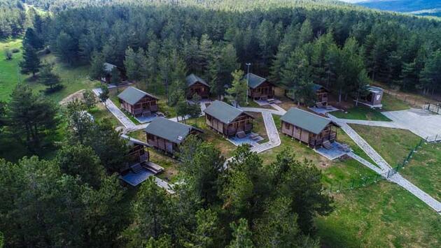 """Doğa, kamp ve karavan turizminin gözde mekanı """"Kocayayla"""""""