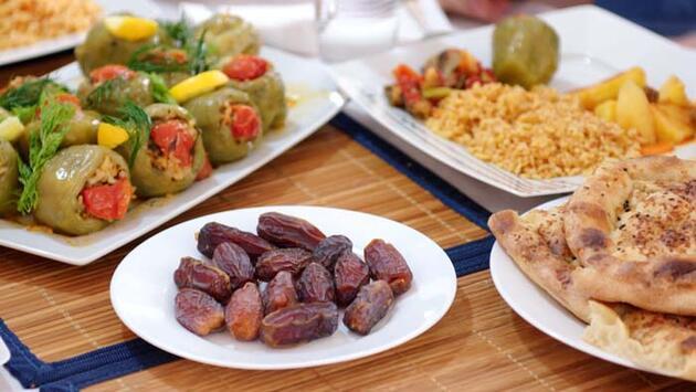 Bu besinlerle daha rahat oruç tutacaksınız! Metabolizma güçlendirici tarifler