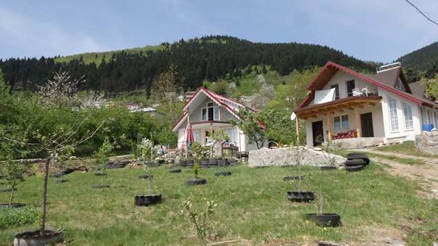 Tam kapanmada Karadeniz'de köy ve yaylalara akın ettiler! 'Koronavirüsten hiç etkilenmedik'