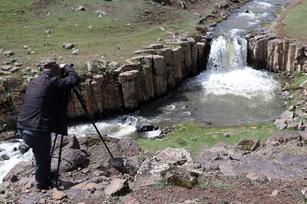 Ağrı'daki saklı güzellik Meya Şelalesi keşfedilmeyi bekliyor