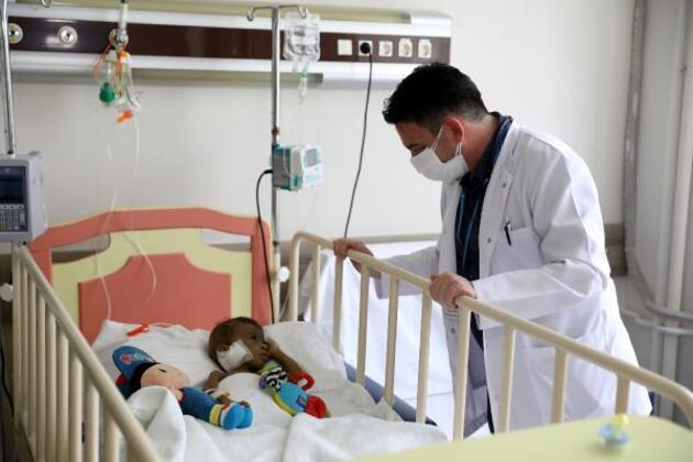 Tamer bebek için sınır ötesi karaciğer operasyonu