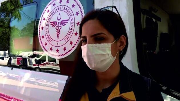 Acil tıp teknisyeni 3 annenin zorlu mesaisi
