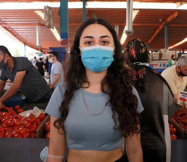 Fotoğraflar Adana'dan! Semt pazarında yoğunluk