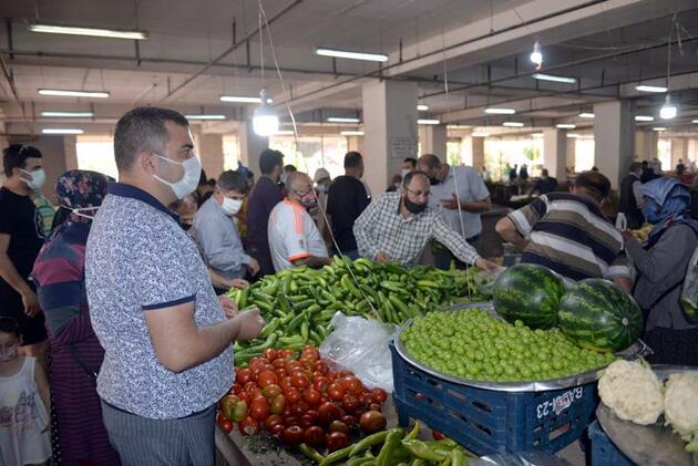 Fırsatçılara tepki: Sebze halinde 2, tezgahta 8 lira