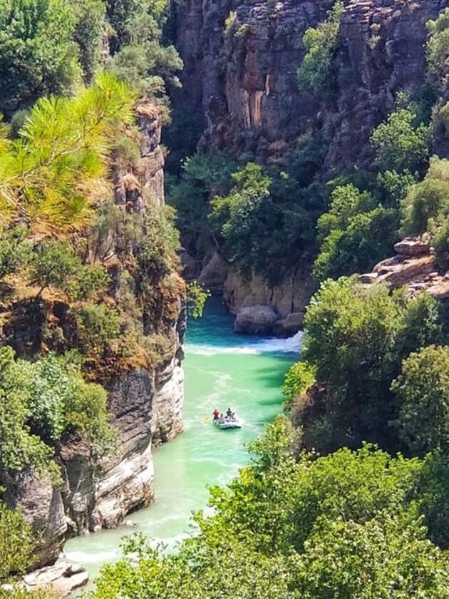 Doğa harikası Tazı Kanyonu