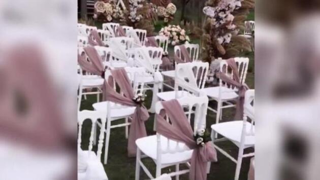 Subasar ormanında düğün organizasyonu tepkisi