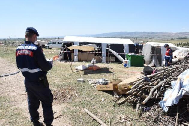 Mevsimlik işçi çadırına 'koronavirüs' karantinası