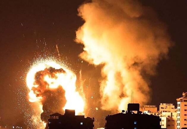 İsrail'in saldırılarında hayatını kaybeden Filistinlilerin sayısı 126'ya yükseldi