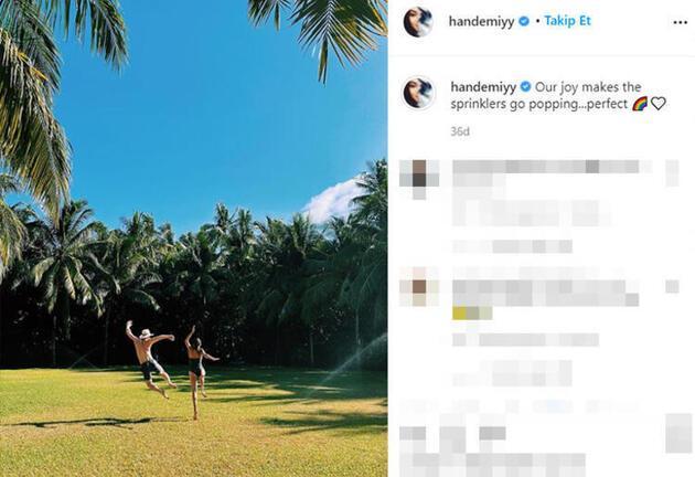 Hande Erçel, Maldivler tatilinden yeni pozları takipçilerinin beğenisine sundu