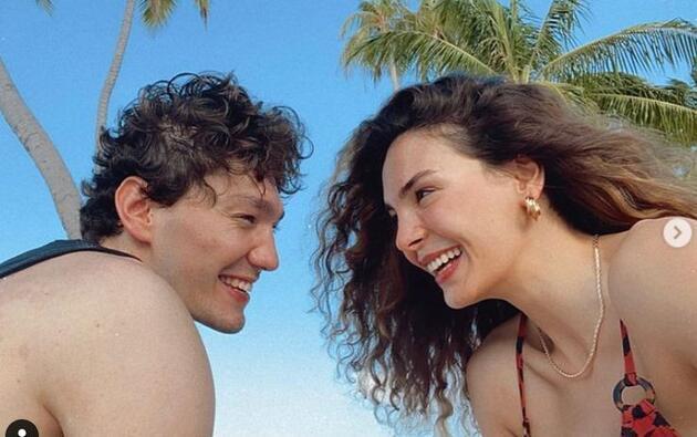 Ebru Şahin ve Cedi Osman Maldivler'de! Reklam yapmamaları dikkat çekti