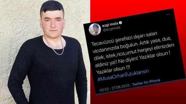 Türkiye bu olayı konuşuyor! Ezgi Mola, Musa Orhan'ın 'özür dile' teklifini reddetti