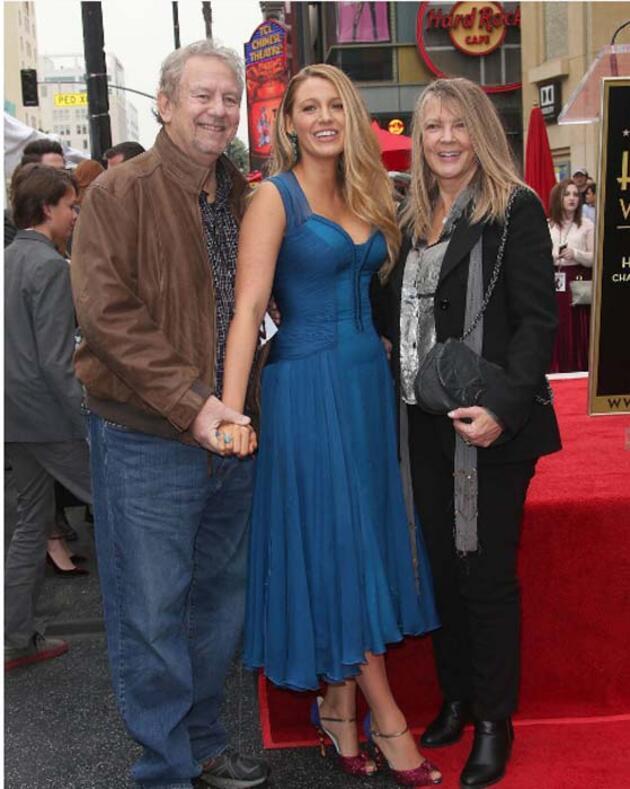Ünlü oyuncu Blake Lively'nin babası Ernie Lively hayatını kaybetti