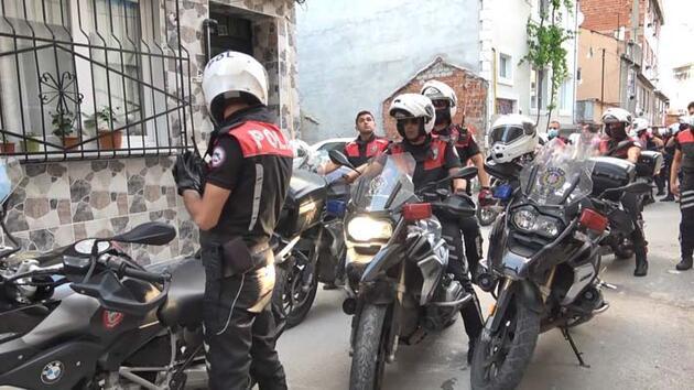 Şüpheliler 15 kilometrelik kovalamacayla yakalandı; mahalleli polisi alkışladı