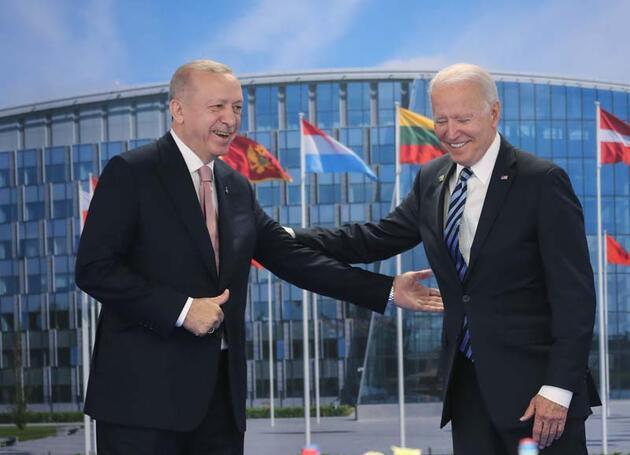 Son dakika haberi... Cumhurbaşkanı Erdoğan'ın Joe Biden ile görüşmesi sona erdi