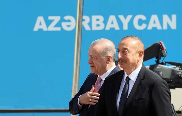 Tarihi ziyaret... Cumhurbaşkanı Erdoğan Şuşa'da