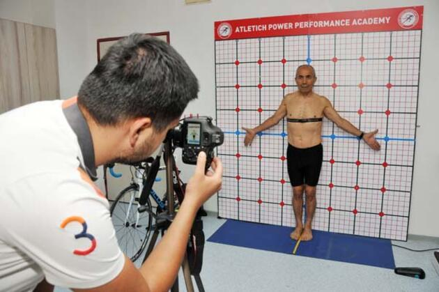 72 yaşındaki 'Demir Adam'ın biyolojik yaşı 33 çıktı