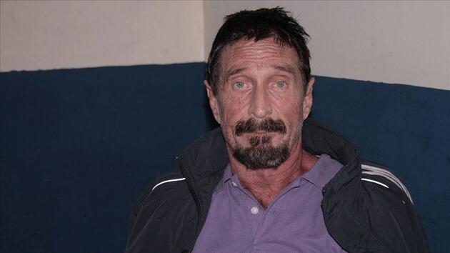 Son dakika haberi: John McAfee hücresinde ölü bulundu
